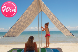 Mums Lounge – Win a Beautiful Designer Beach Shade From Hollie and Harrie
