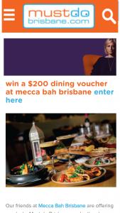 Must do Brisbane – Win a $200 Voucher to Dine at Their Amazing Restaurant In The Emporium