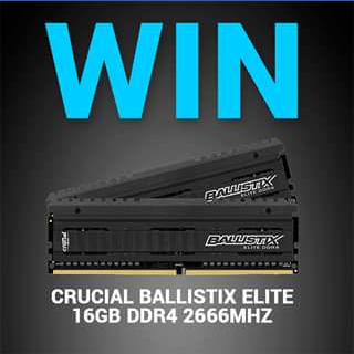 MWave – Win a 16gb BallisTicket Elite Dual Channel Ddr4