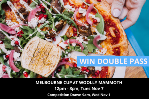 MyCityLife – Win a Double Pass to Melbourne Cup at Woolly Mammoth