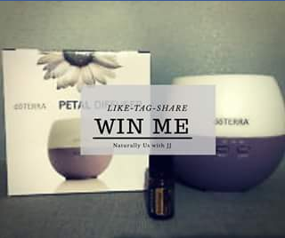 Naturally Us with J & J FB – Win a Brand New D&#333terra Petal Diffuser Along With a 5ml Wild Orange