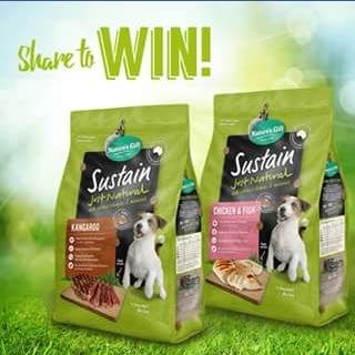 Nature's Gift – Win 1 of 10 dog food gift hampers
