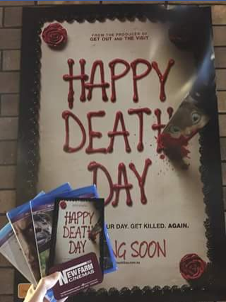 New farm cinemas – Win Happy Death Day Prize Pack