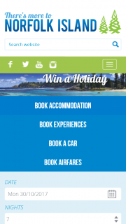 Norfolk Island Tourism – Win a Holiday (prize valued at $4,782)