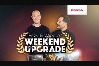 Nova Fitzy & Wippa's weekend upgrade – Win 1 of 3 Prizes to Upgrade Your Weekend (prize valued at $500)