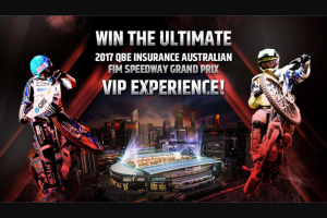 Nova FM – Win 1 of 2 x VIP Pit Walk Packages (prize valued at $550)