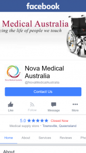 Nova Medical Australia – Win a Book Seat