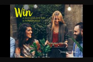 Nova – Win a Banquet for You & Three Mates King St Brisbane