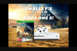 NovaFM Smallzy's giving away XBox Ones S – Win an Xbox One S