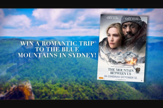 9Now – Channel 9 – Today Show – Win The Ultimate Romantic Getaway In The Blue Mountains (prize valued at $3,709)