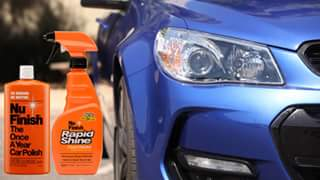 Nu Finish Australia – Win 1 of 3 Polish and Protection Packs (nu Finish Polish & Nu Finish Rapid Shine) Tell Us Your Secret Method to Getting The Perfect Shine