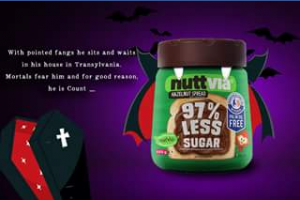 Nuttvia – Win a MONTH's supply of Nuttvia all Halloween long