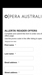 Opera Australia – Win One Double Pass to this Event