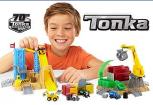 Out & About With Kids – Win 1 of 6 Tonka Prize Packs Each Valued at $51.00. (prize valued at $51)