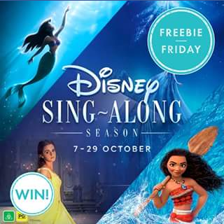 Pacific Fair Shopping Centre – Win One of Five Family Passes to Event Cinemas Pacific Fair's Disney Sing-Along