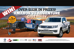 Pat Callinan's 4×4 Adventures – Win an Volkswagen Amarok Sportline V6 Turbo Diesel (prize valued at $52,490)