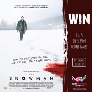 Perth Festivals & Events – Win Tickets to See The Snowman