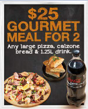 Pizza Capers Enoggera – Win Four $25 Meal for Two Vouchers