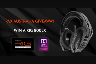Plantronics – Win a Rig 800lx Headset (prize valued at $199)