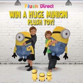 PlushDirect – Win a Huge Minion