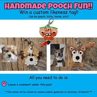 Pooch tags – Win a Custom Likeness Tag