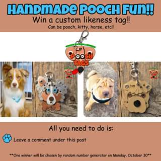 Pooch Tags – Win a Custom Likeness Tag