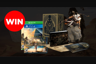 Press Start – Win Assassin's Creed Origins Gods Edition PS4/xbox One (prize valued at $358)