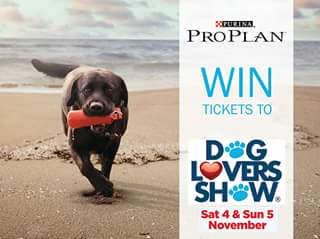 Purina – Win One of 10 X Double Passes to Visit The Purina Pro Plan Booth at this Year's Dog Lovers Show Brisbane (4th and 5th November 2017). (prize valued at $500)