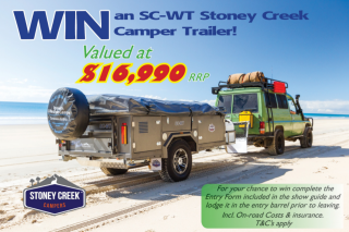 Queensland Pre-Christmas Caravan & Camping Sale – Win a Camper Trailer Valued at Over $16000 (prize valued at $16,990)