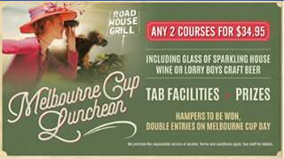 Roadhouse Grill – Win a $50 Roadhouse Grill Voucher (prize valued at $50)