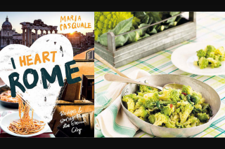 SBS Food – Win The I Heart Rome Cookbook (prize valued at $150)