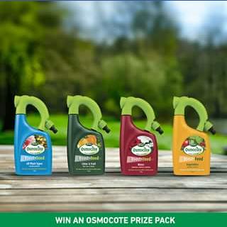 Scotts Australia – Win Osmocote Boost & Feed Prize Pack