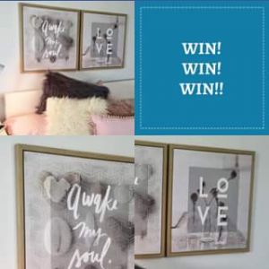 Sea Me at Home – Win These Serenity Framed Prints and a Store Credit of $30 (prize valued at $99)