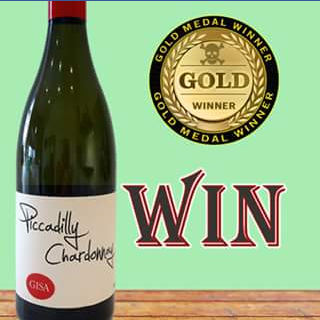 Skye Cellars South Australia – Win a Bottle of Gold Medal Winning Piccadilly Chardonnay 2012