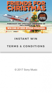 Sony Music Friends for Christmas 2017 – Competition (prize valued at $250)