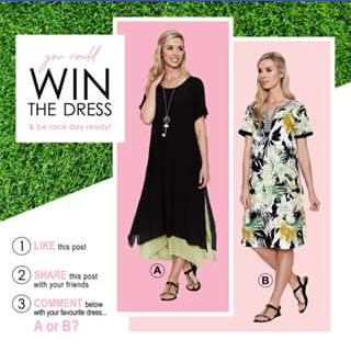 Sorbet style – Win a Dress for Race Day