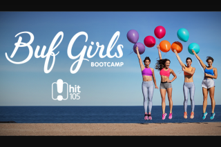 Southern Cross Austereo HitFM – Win a Chance to Workout With Buf Bootcamp Girls