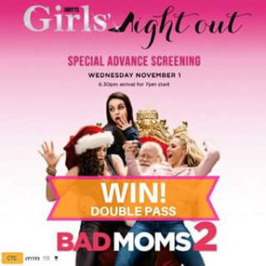 Sunnybank Plaza – Win a Double Pass to See The Special Advanced Screening of Bad Moms 2