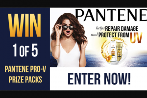 Channel 7 – Sunrise – Win One of Five Pantene Prize Packs