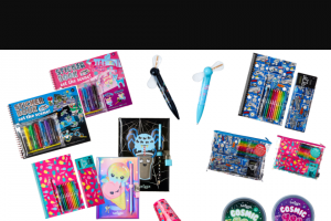 sweepon – Win 1 of 2 Smiggle Christmas Stationery Packs (prize valued at $131)