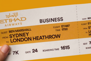 Sydney Opera House – Win Two Business Class Flights to London With Etihad Airways (prize valued at $18,000)