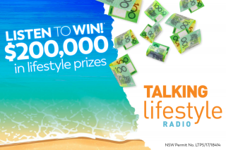 Talking Lifestyle Radio Stations – Win Your Share of $200,000 Worth of Lifestyle Prizes (prize valued at $200,000)