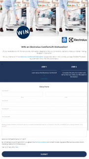 The Good Guys – Win Electrolux Comfort Lift Dishwasher Or 1/2 Gift Cards (prize valued at $2,599)