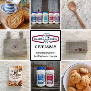 The Healthy Baker – Win a Healthy Baker Prize Pack