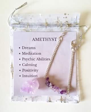 The Te of Mala – Win an Amethyst Bracelet & Crystal Set