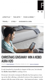 The-F – Win One of Your Own for Christmas