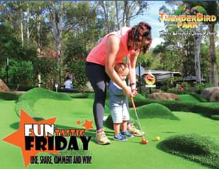 Thunderbird Park – Win a Double Pass for Adventure Mini Golf at Thunderbird Park The Winner Will Be Announced on Our Fb Page on Monday