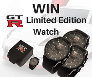 Total Nissan FB – Win this Limited Edition Gtr Watch