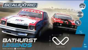 Toyworld Canberra – Win a Scalextric Bathurst Legends Set Must Collect (prize valued at $349.99)