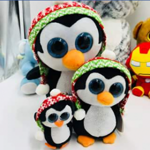Ty beanie boo collectors – Win a Set of Christmas Penguins Beanie Boos